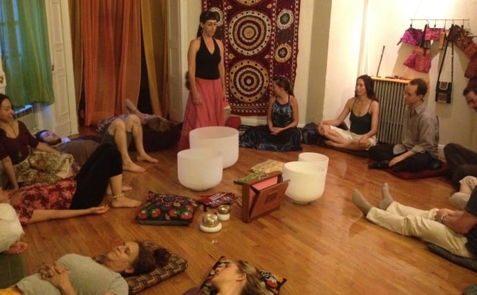 Sound Bath & Holiday Party Tomorrow Evening!